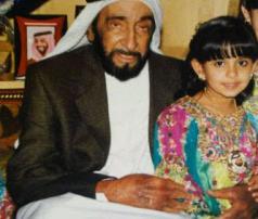 الشيخ زايد والشيخه مريم