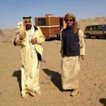 الشيخ خليفة بن زايد ومنصور